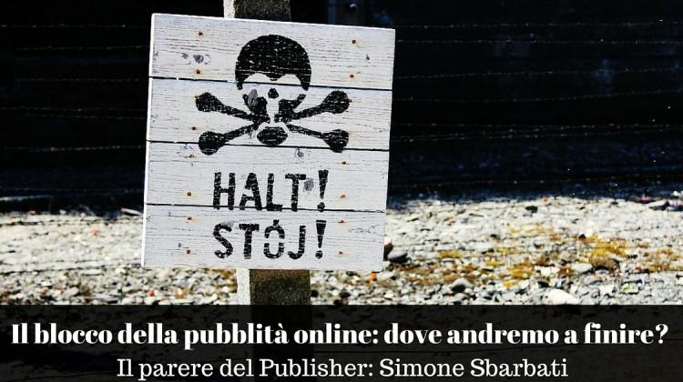 Il blocco della pubblità online