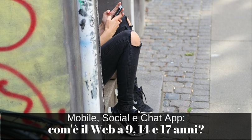 web per giovani e giovanissimi
